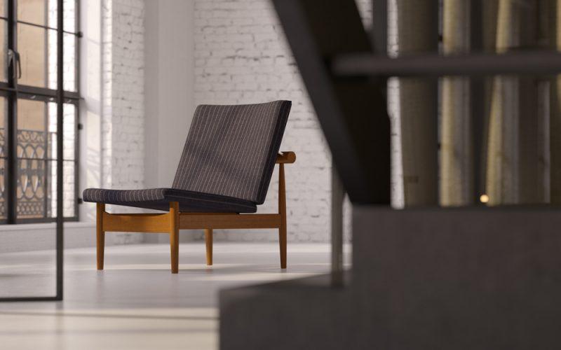 En Wegner lænestol giver siddekomfort og stil